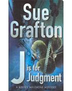 J is for Judgement - Sue Grafton
