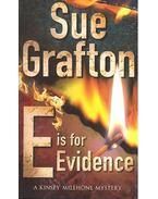 E is for Evidence - Sue Grafton