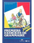 Premiers exercices de grammaire – junior - SALINS – DUPRÉ LA TOUR