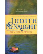 Remember When - Judith McNaught