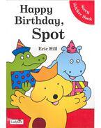Happy Birthday, Spot – Story Sticker Book - HILL, ERIC