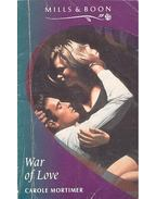 War of Love - Mortimer, Carole