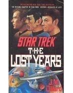 Star Trek – The Lost Years - DILLARD, J.M.