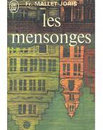 Les mensonges - Mallet-Joris,Francoise