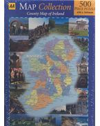 County Map of Ireland - MAP COLLECTION