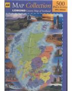 County Map of Scotland - MAP COLLECTION