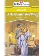 A Most Suitable Wife - Leigh, Roberta