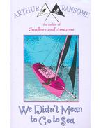 We Didn't Mean to Go to Sea - Arthur Ransome
