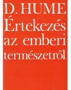 Értekezés az emberi természetről - Hume, David