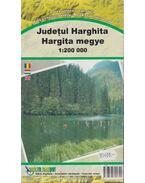 Hargita megye 1:200 000 - Hunyadi László, Kuszálik József