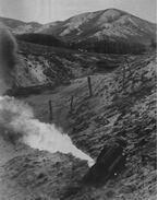 II. világháborús fotó (lángszóró, egy alakos)