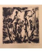 Fürdőzők (1922) - Aba-Novák Vilmos