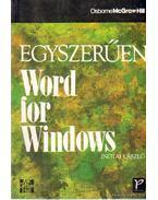 Egyszerűen Word for Windows - Inotai László