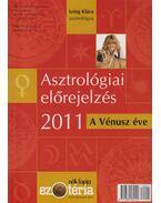 Asztrológiai előrejelzés 2011 - Izing Klára