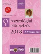 Asztrológiai előrejelzés 2018 - Izing Klára