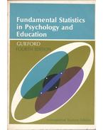 Fundamental Statistics in Psycholohy and Education - J. P. Guilford