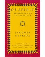 Of Spirit - Jacques Derrida