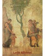 Latin költészet - James B. Kraus