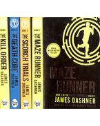 The Maze Runner Trilogy + Prequel - James Dashner