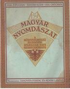 Magyar Nyomdászat XXXI. évfolyam 10. szám - Janovits Ferenc, Novák László