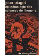 Épistémologie des sciences de l'homme - Jean Piaget