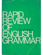 Rapid Review of English Grammar - Jean Praninskas