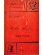 A görög irodalom története - Jebb, R. C.