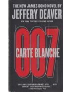 Carte Blanche - Jeffery Deaver