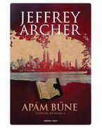 Apám bűne - Jeffrey Archer