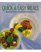 Quick & Easy Meals - Jenni Taylor