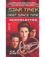 Star Trek – Deep Space Nine – Bloodletter - JETER, K.W.
