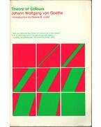 Theory of Colours - Johann Wolfgang Goethe