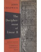 The Decipherment of Linear B - John Chadwick