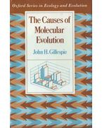 The Causes of Molecular Evolution - John H. Gillespie