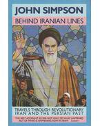 Behind Iranian Lines - John Simpson