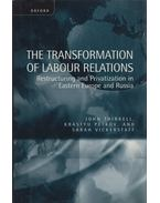 The Transformation of Labour Relations - John Thirkell, Krastyu Petkov, Sarah Vickerstaff