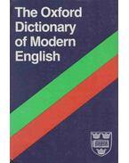 The Oxford Dictionary of Modern English - Joyce M. Hawkins