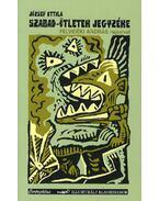 Szabad-ötletek jegyzéke - József Attila