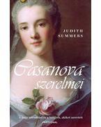 Casanova szerelmei - Judith Summers