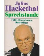 Sprechstunde - Julius Hackethal