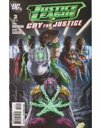 Justice League: Cry for Justice 3. - Robinson, James, Cascioli, Mauro