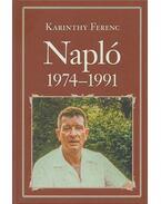 Napló 1974-1991 - Karinthy Ferenc