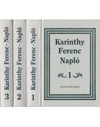 Napló 1-3. - Karinthy Ferenc