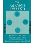 German Ideology - Karl Marx, Frederick Engels