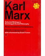 Selected Writings in Sociology and Social Philosophy - Karl Marx