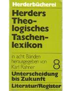 Herders Theologistiches Taschenlexikon Band 8. - Karl Rahner