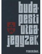 Budapesti utcajegyzék 1974. - Károly István dr.