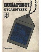 Budapesti utcajegyzék 1989 - Károly István dr.