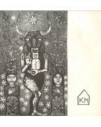 Kátai Mihály: Az Égei-tenger és a Tisza mentén c. kiállítása (meghívó)