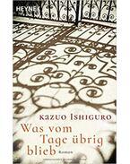 Was vom Tageübrig blieb - Kazuo Ishiguro